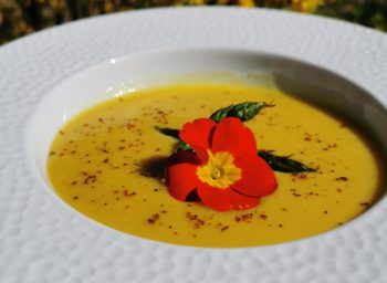 velouté patate douce